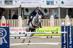 MUFF Werner (SUI), Livexus Z<br /> Hagen - Horses and Dreams 2019<br /> Preis der Pott´s Brauerei GmbH CSI2*<br /> Finale Mittlere Tour<br /> 28. April 2019<br /> © www.sportfotos-lafrentz.de/Stefan Lafrentz