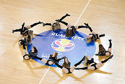 Dance team Ladies during basketball match between Slovenia and Spain in Round #5 of FIBA Basketball World Cup 2019 European Qualifiers, on June 28, 2018 in SRC Stozice, Ljubljana, Slovenia. Photo by Urban Urbanc / Sportida