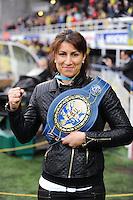 Farida EL Hadrati - 14.12.2014 - Clermont / Munster - European Champions Cup <br /> Photo : Jean Paul Thomas / Icon Sport