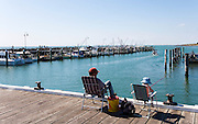 fishing off pier at Portarlington on the Bellarine Peninsula