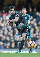 Football - 2016 / 2017 Premier League - Chelsea vs. West Bromwich Albion<br /> <br /> Claudio Yacob of West Bromwich Albion at Stamford Bridge.<br /> <br /> COLORSPORT/DANIEL BEARHAM