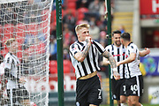 GOAL Steven Humprhys celebrates scoring 0-1 during the EFL Sky Bet League 1 match between Rotherham United and Rochdale at the AESSEAL New York Stadium, Rotherham, England on 10 March 2018. Picture by Daniel Youngs.