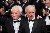 Luc Dardenne, Jean-Pierre Dardenne at the closing ceremony and The Specials film gala screening at the 72nd Cannes Film Festival Saturday 25th May 2019, Cannes, France. Photo credit: Doreen Kennedy
