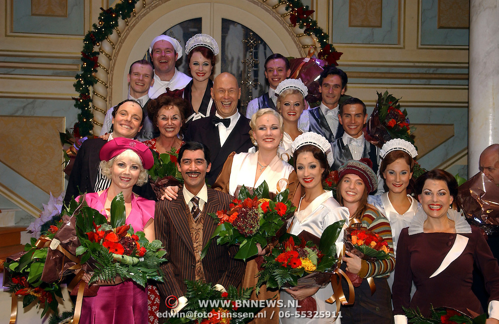 NLD/Tilburg/20051023 - Premiere musical Annie, cast