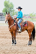 Cowgirl, rodeo, Harden, Montana, Elizabeth Parker