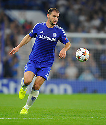 Chelsea's Nemanja Matic - Photo mandatory by-line: Joe Meredith/JMP - Mobile: 07966 386802 - 17/09/2014 - SPORT - FOOTBALL - London - Stamford Bridge - Chelsea v Schalke 04 - Champions League Group Stage