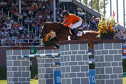 Van Der Schans Wout Jan, (NED), Capetown<br /> BMO Nations Cup<br /> Spruce Meadows Masters - Calgary 2015<br /> © Hippo Foto - Dirk Caremans<br /> 12/09/15