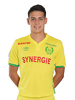 Mariusz Stepinski during photocall of Fc Nantes for new season of Ligue 1 on September 14th 2016<br /> Photo : Fcna / Icon Sport