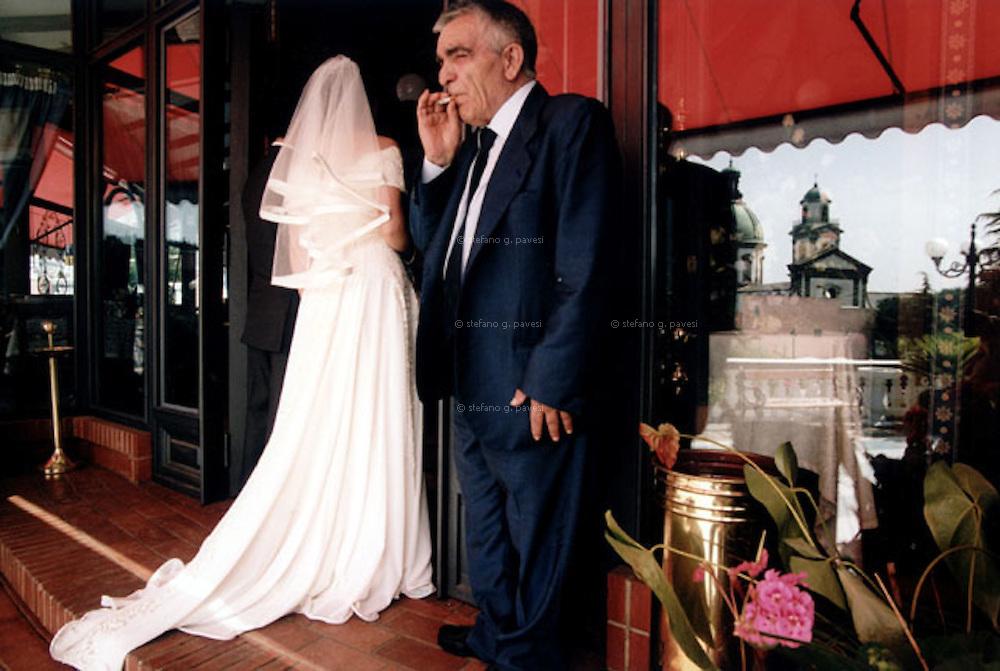 Naples, wedding in 'Villa Giulia' at Santa Anastasia district