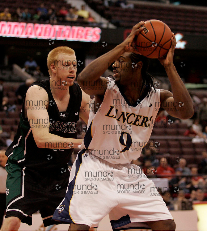 CIS Basketball Champioships-Ottawa, March 19, 2010, Windsor Lancers-Nigel Johnson-Tyghter