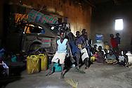 displaced children in Uganda