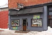 Sometimes, in the cold of a Keweenaw winter, you just need to have a little nip. While there are lots of pubs in northern Michigan, this is THE U.P. Pub. Kinda reminds me of the old Northern Exposure show. By the way, the Copperdog 150 is the annual sled dog race that is held here in Calumet, and it's a really big deal!!