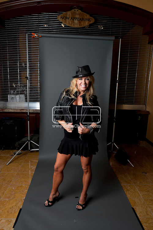 February 20th, 2012, Las Vegas, Nevada. The 21st Annual Reel Awards in Las Vegas where celebrity lookalikes show off their talents. Pictured is Kristina Carson as Britney Spears..PHOTO © JOHN CHAPPLE / www.johnchapple.com.