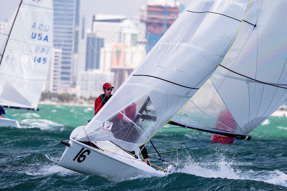 Akula sailing in Bacardi Miami Sailing Week, day five.