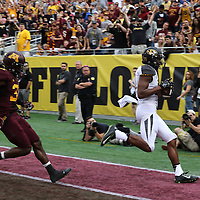 ORLANDO, FL - JANUARY 01:  Bud Sasser #21 of the Missouri Tigers catches a pass for a touchdown during the Buffalo Wild Wings Citrus Bowl between the Minnesota Golden Gophers and the Missouri Tigers at the Florida Citrus Bowl on January 1, 2015 in Orlando, Florida. (Photo by Alex Menendez/Getty Images) *** Local Caption *** Bud Sasser