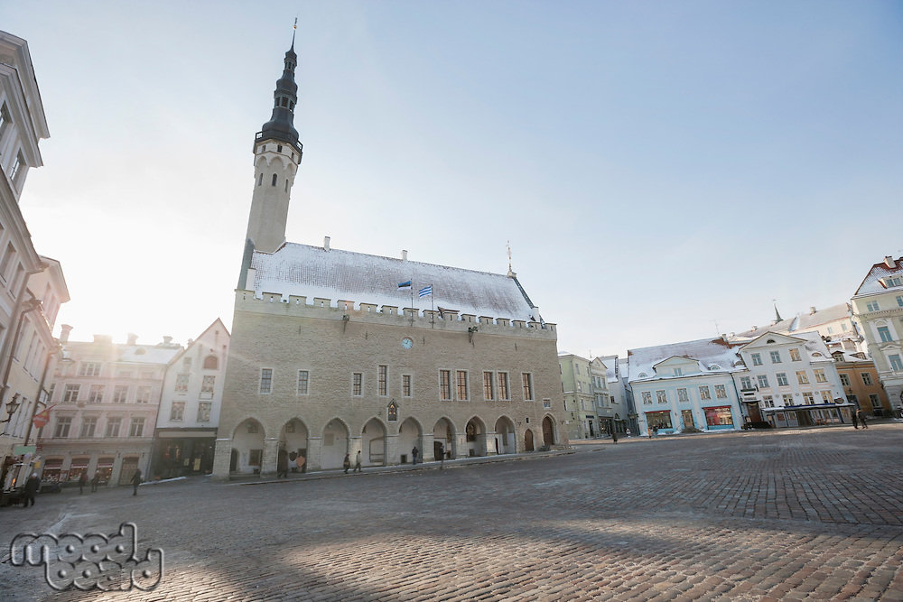 Town Hall Square; Old Town; Tallinn; Estonia; Europe