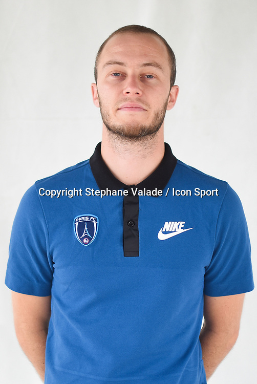 Mikael Durrens during photoshooting of Paris FC for new season 2017/2018 on October 17, 2017 in Paris, France<br /> Photo : Stephane Valade / Icon Sport