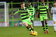 Forest Green Rovers Dayle Grubb(8) on the ball during the EFL Sky Bet League 2 match between Forest Green Rovers and Port Vale at the New Lawn, Forest Green, United Kingdom on 6 January 2018. Photo by Shane Healey.
