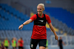 ASTANA, KAZAKHSTAN - Friday, September 15, 2017: Wales' captain Sophie Ingle training at the Astana Arena ahead of the FIFA Women's World Cup 2019 Qualifying Round Group 1 match against Kazakhstan. (Pic by David Rawcliffe/Propaganda)