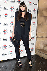 © Licensed to London News Pictures. 17/02/2016. LILAH PARSONS arrives at the NME Awards 2016 with Austin, Texas.  Previous winners of NME's Godlike Genius Award include Suede, Blondie, The Clash, Paul Weller, The Cure, Manic Street Preachers, New Order & Joy Division, Dave Grohl, Noel Gallagher and Johnny Marr.  London, UK. Photo credit: Ray Tang/LNP