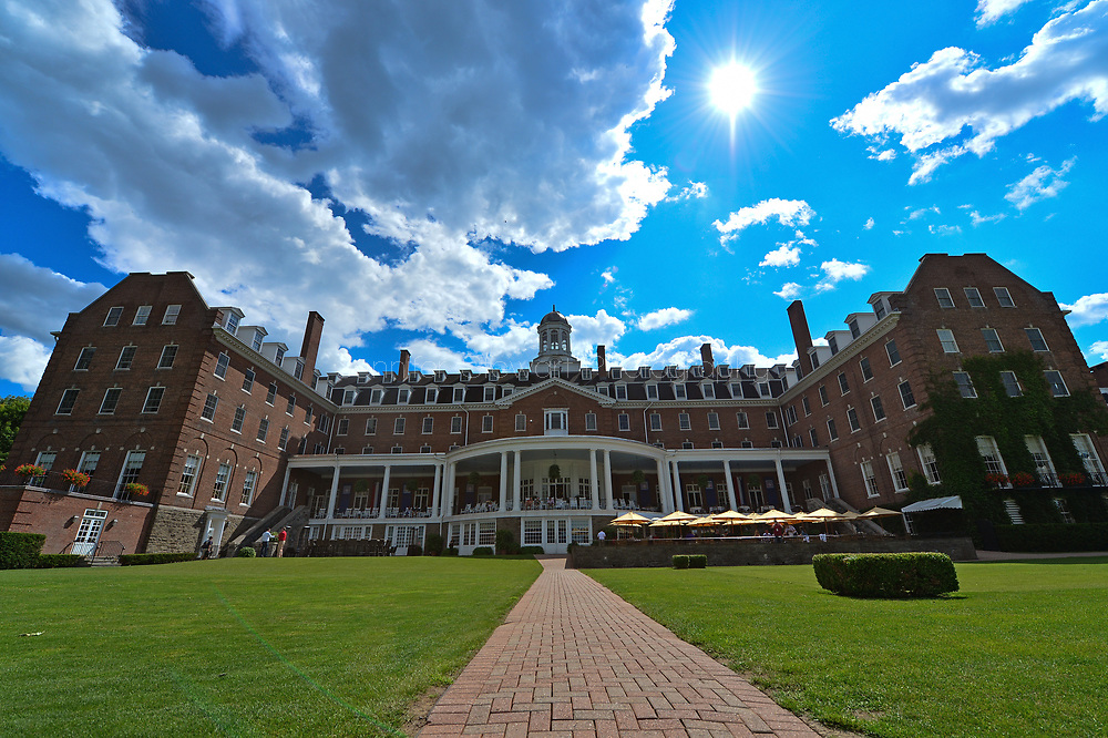 COOPERSTOWN, NY July 24: The Otesaga Resort Hotel in Cooperstown, NY. (Photo by Jennifer Stewart/Arizona Diamondbacks)