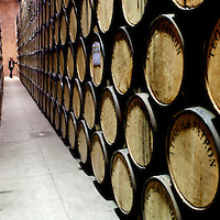 The Patron Tequila Hacienda and Distillery --- Image created for http://tastetequila.com Inside of the Tequila Patrón distillery, in Atotonilco el Alto, Jalisco. Patron Hacienda and Distillery