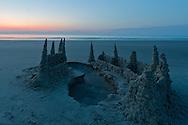 Sand Castle Sunrise