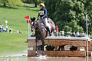 Serena McGregor on Parc Diamond Lux during the International Horse Trials at Chatsworth, Bakewell, United Kingdom on 13 May 2018. Picture by George Franks.