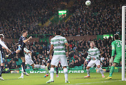 Dundee's Thomas Konrad heads a good chance over the bar - Celtic v Dundee, SPFL Premiership at Celtic Park<br /> <br />  - &copy; David Young - www.davidyoungphoto.co.uk - email: davidyoungphoto@gmail.com