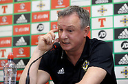Northern Ireland Training Session and Press Conference - Windsor Park - 23 March 2018