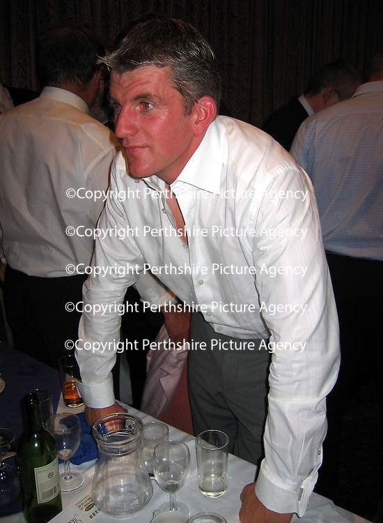 Jim Weir Testimonial dinner.....<br />Jim Weir<br /><br />Picture by Graeme Hart.<br />Copyright Perthshire Picture Agency<br />Tel: 01738 623350  Mobile: 07990 594431
