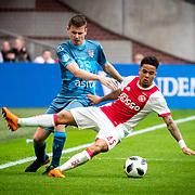 NLD/Amsterdam/20180408 - Ajax - Heracles, justin Kluivert vs .......