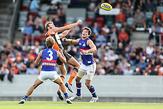 12 Apr 2014 - GWS v Western Bulldogs