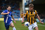 Port Vale midfielder Sam Foley during the Sky Bet League 1 match between Gillingham and Port Vale at the MEMS Priestfield Stadium, Gillingham, England on 16 April 2016. Photo by Martin Cole.