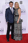 CLAIRE DANES + HUGH DANCY at  the People's Choice Awards 2016 held at the ©Exclusivepix Media