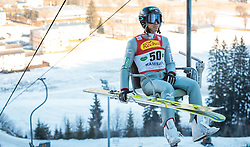 16.12.2016, Nordische Arena, Ramsau, AUT, FIS Weltcup Nordische Kombination, Skisprung, im Bild Akito Watabe (JPN) // Akito Watabe of Japan during Skijumping Competition of FIS Nordic Combined World Cup, at the Nordic Arena in Ramsau, Austria on 2016/12/16. EXPA Pictures © 2016, PhotoCredit: EXPA/ JFK