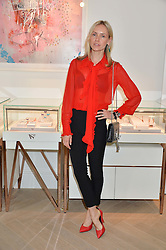 NADYA ABELA at a party to celebrate the launch of the new Stephen Webster Salon at 130 Mount Street, London on 18th May 2016.