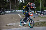#308 (PETCH Rebecca) NZL during round 3 of the 2017 UCI BMX  Supercross World Cup in Zolder, Belgium,