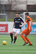 Dundee's Matty Smythe - Dundee v Dundee United in the SPFL Development League at Links Park, Montrose. Photo: David Young<br /> <br />  - &copy; David Young - www.davidyoungphoto.co.uk - email: davidyoungphoto@gmail.com