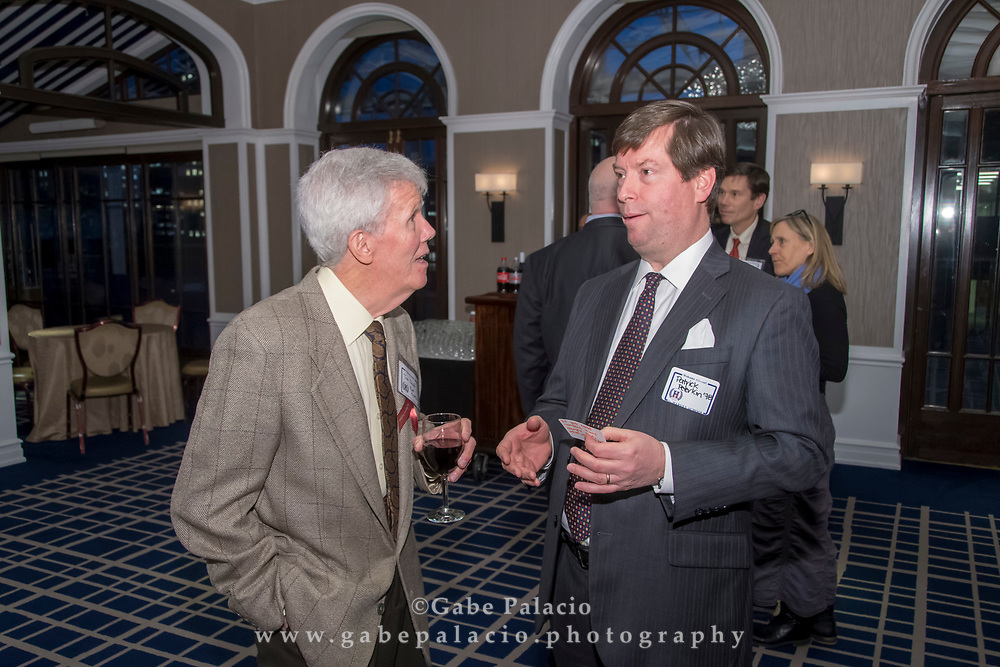 The Harvey School alumni reception in New York City on March 5, 2018. (photo by Gabe Palacio)