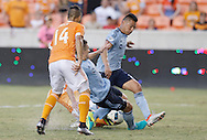 Jun 29, 2016; Houston, TX, USA; in the second half at BBVA Compass Stadium. Dynamo won 3 to 1. Mandatory Credit: Thomas B. Shea-USA TODAY Sports
