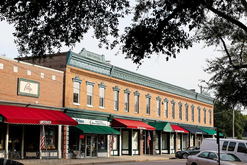 Downtown Summerville, SC.
