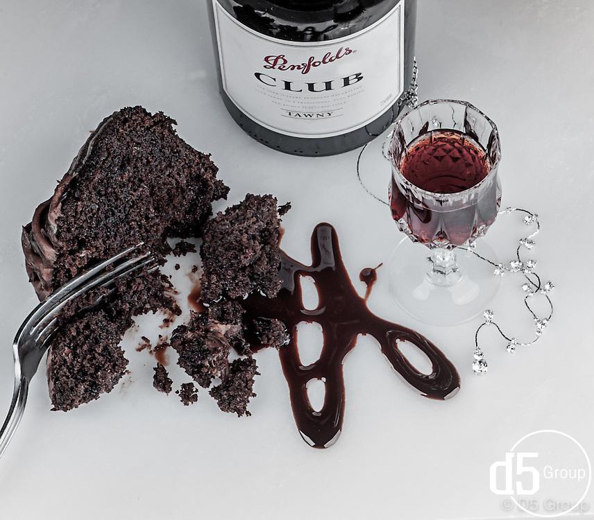 German Chocolate Cake and Penfolds Club