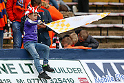 Luton Town football fans, football supporters, before the EFL Sky Bet League 1 match between Luton Town and Oxford United at Kenilworth Road, Luton, England on 4 May 2019.