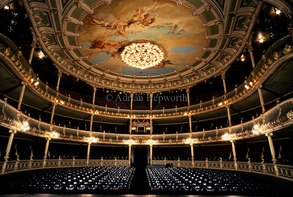National Theatre, San Jos&eacute;, Costa Rica.<br />