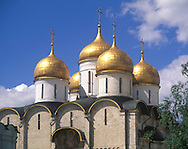 The Assumption Cathedral in The Kremlin<br /> Moscow, Russia
