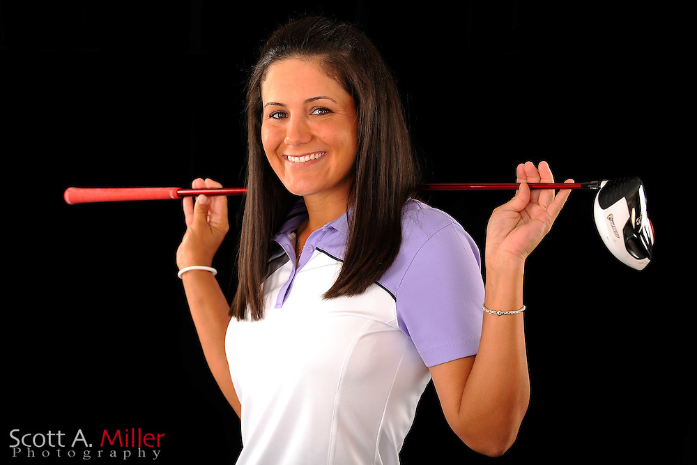 Briana Vega during a portrait shoot prior to the Symetra Tour's Florida's Natural Charity Classic at the Lake Region Yacht and Country Club on March 21, 2012 in Winter Haven, Fla. ..©2012 Scott A. Miller.