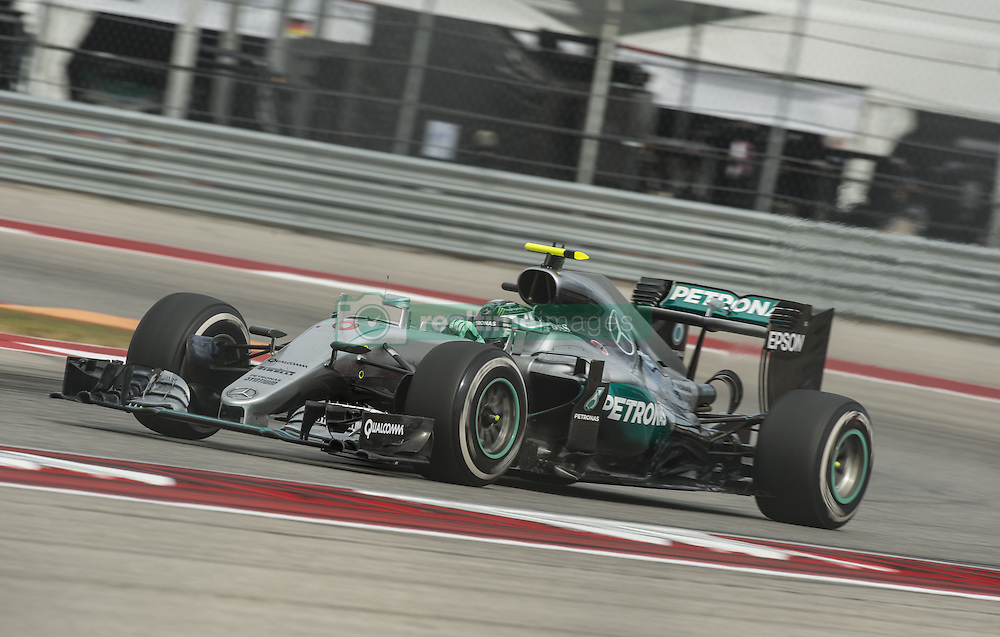 October 23, 2016 - Austin, Texas, U.S - 2016 FORMULA 1, Circuit of the America's, #6 NICO ROSBERG of the MERCEDES AMG PETRONAS team in turn 18, during a practice run. (Credit Image: © Hoss Mcbain via ZUMA Wire)