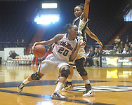 "Mississippi's Kayla Melson (20) at the C.M. ""Tad"" Smith Coliseum in Oxford, Miss. on Sunday, January 2, 2011. (AP Photo/Oxford Eagle, Bruce Newman)"