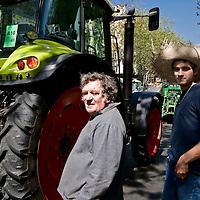 France: Tractors invade Paris as farmers protest.